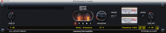 Audified STA Effects