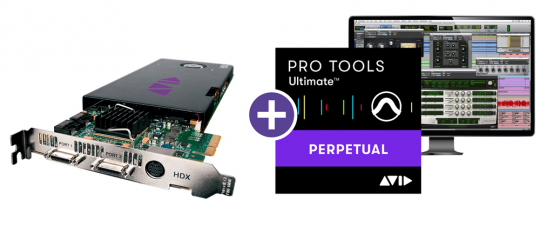 Avid HDX PCIe Core mit Pro Tools Ultimate Software