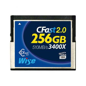 Wise CFast 2.0 Card 3400X blue 256 GB
