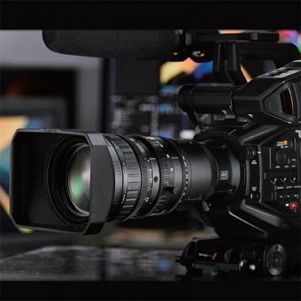 Blackmagic Design URSA Broadcast + Fujinon 4K-Optik