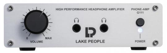 Lake People Phone-Amp G111 silber