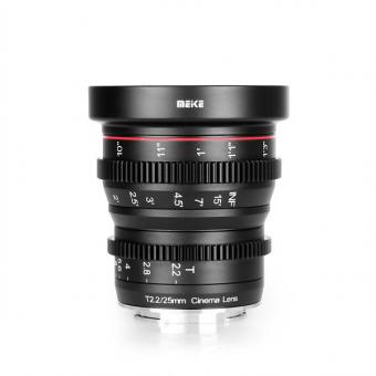 Meike 25mm T2.2 MFT Cine Lens