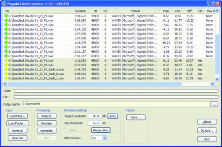 Pinguin Loudness Normalizer Basic