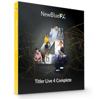 NewBlueFX Titler Live 4 Complete