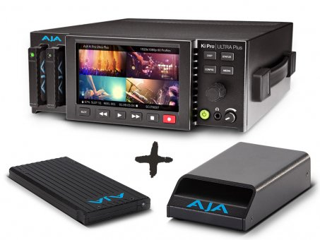 AJA Ki Pro Ultra Plus Video Bundle 2