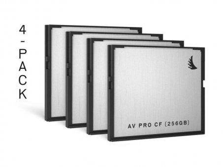 Angelbird CFast 2.0 AVpro CF 256GB 4er Pack
