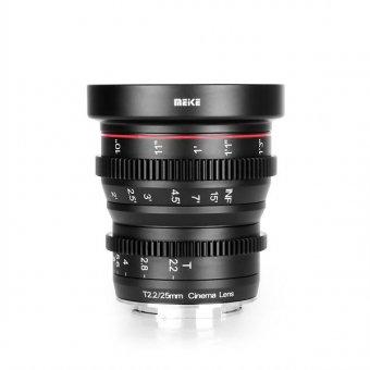 Meike 25mm T2.2 Fuji Cine Lens