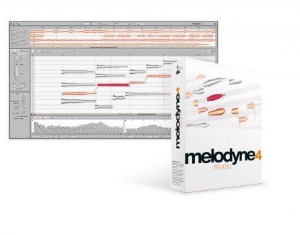 Celemony Melodyne 4 Studio Update von Melodyne Editor